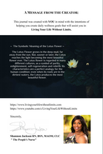 Load image into Gallery viewer, LYLWL Wellness Journal - Living Your Life Without Limits Shop