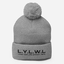 Load image into Gallery viewer, Pom-Pom Beanie - Living Your Life Without Limits Shop