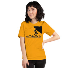 Load image into Gallery viewer, L.Y.L.W.L Short-Sleeve Unisex T-Shirt - Living Your Life Without Limits Shop