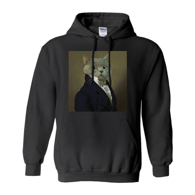 Paw&Bone Black / Small (S) Pawtrait™ Custom The Ambassador Hoodie Custom Portrait - Personalized Gift