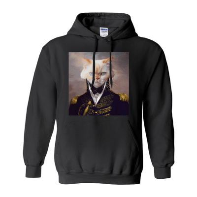 Paw&Bone Black / Small (S) Pawtrait™ Custom The General Hoodie Custom Portrait - Personalized Gift