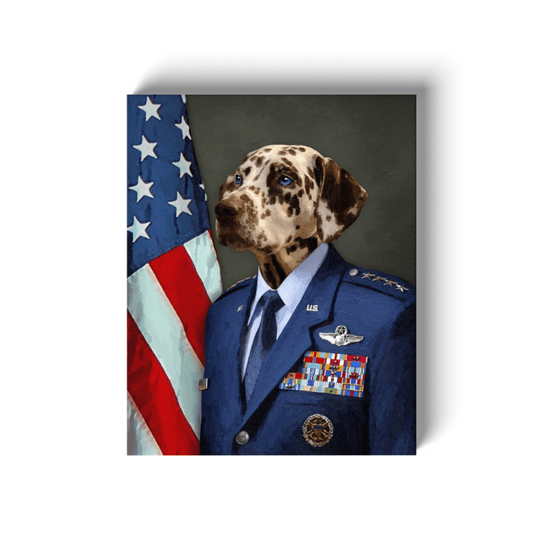 Paw&Bone Canvas Pawtrait™ Custom The Minister Canvas Custom Portrait - Personalized Gift