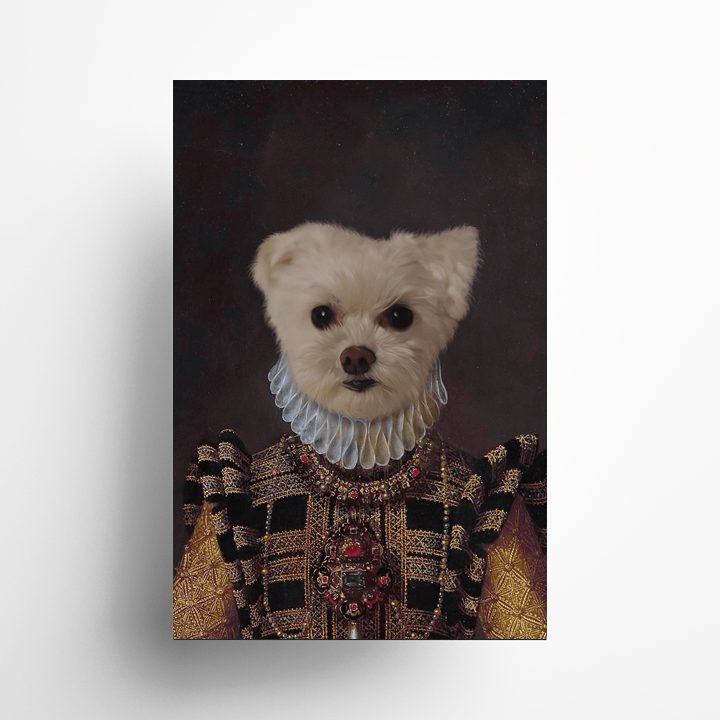 Paw&Bone Pawtrait™ Custom The Dame Poster Custom Portrait - Personalized Gift