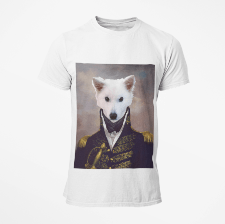 Paw&Bone Pawtrait™ Custom The General T-shirts Custom Portrait - Personalized Gift
