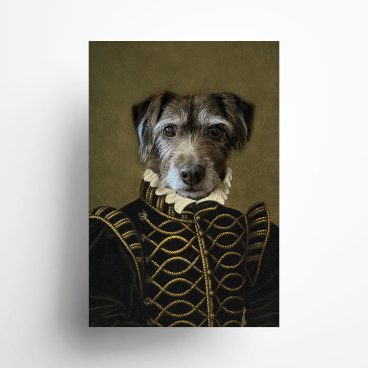 Paw&Bone Pawtrait™ Custom The Noble Poster Custom Portrait - Personalized Gift