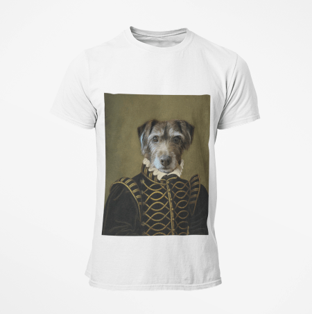 Paw&Bone Pawtrait™ Custom The Noble T-shirts Custom Portrait - Personalized Gift