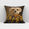Paw&Bone Pawtrait™ Custom The Veteran Couch Pillow Custom Portrait - Personalized Gift
