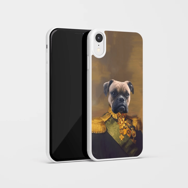 Paw&Bone Phone Case Pawtrait™ Custom The Colonel Phone Case Custom Portrait - Personalized Gift
