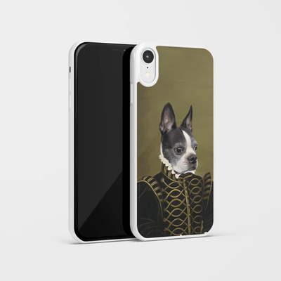 Paw&Bone Phone Case Pawtrait™ Custom The Noble Phone Case Custom Portrait - Personalized Gift