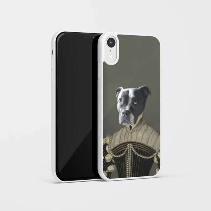 Family Love Gift Phone Case Pawtrait™ Custom The Pearled Lady Phone Case Custom Portrait - Personalized Gift