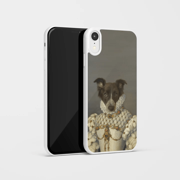Paw&Bone Phone Case Pawtrait™ Custom The Princess Phone Case Custom Portrait - Personalized Gift