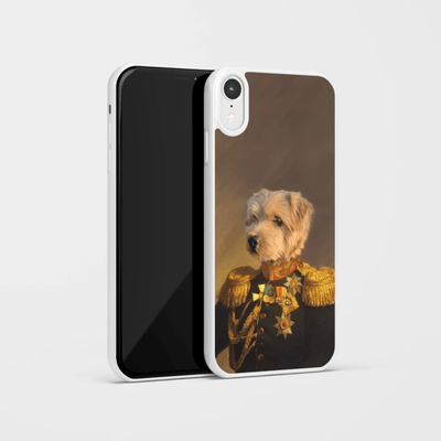 Paw&Bone Phone Case Pawtrait™ Custom The Veteran Phone Case Custom Portrait - Personalized Gift