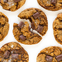 Chocolate Molasses Cookies