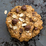Oats, Peanut butter and chocolate Cookies