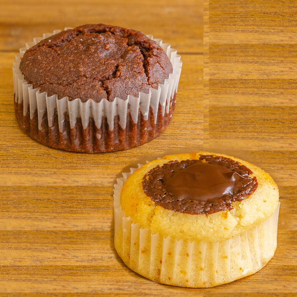 Keto Nuts and Chocolate Muffins Gluten Free