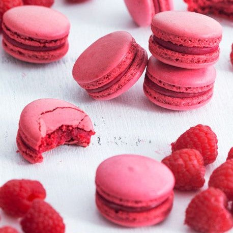 French Macaroon Raspberry