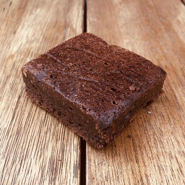 Vegan Double Dark Chocolate Brownie