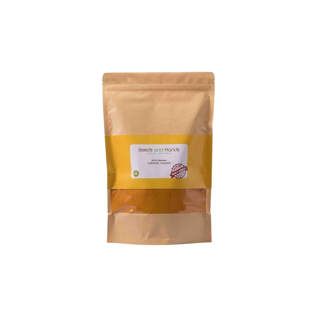 Seeds and Hands Wayanad Turmeric/Haldi Powder [100% Pure and Natural] (Super Saver Pack 1kg)