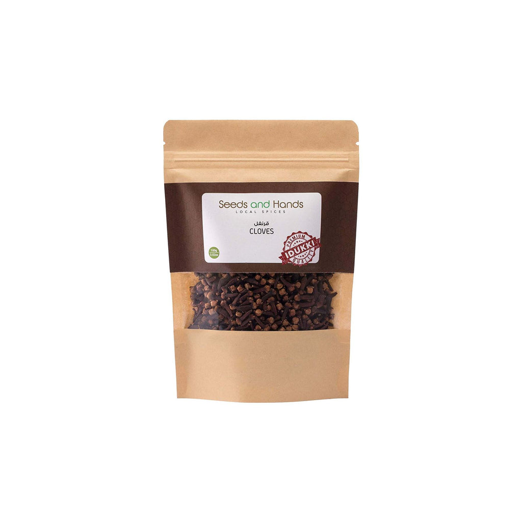 Seeds and Hands Idukki Cloves/Laung Whole [Organically Grown Homestead Produce] (100g)