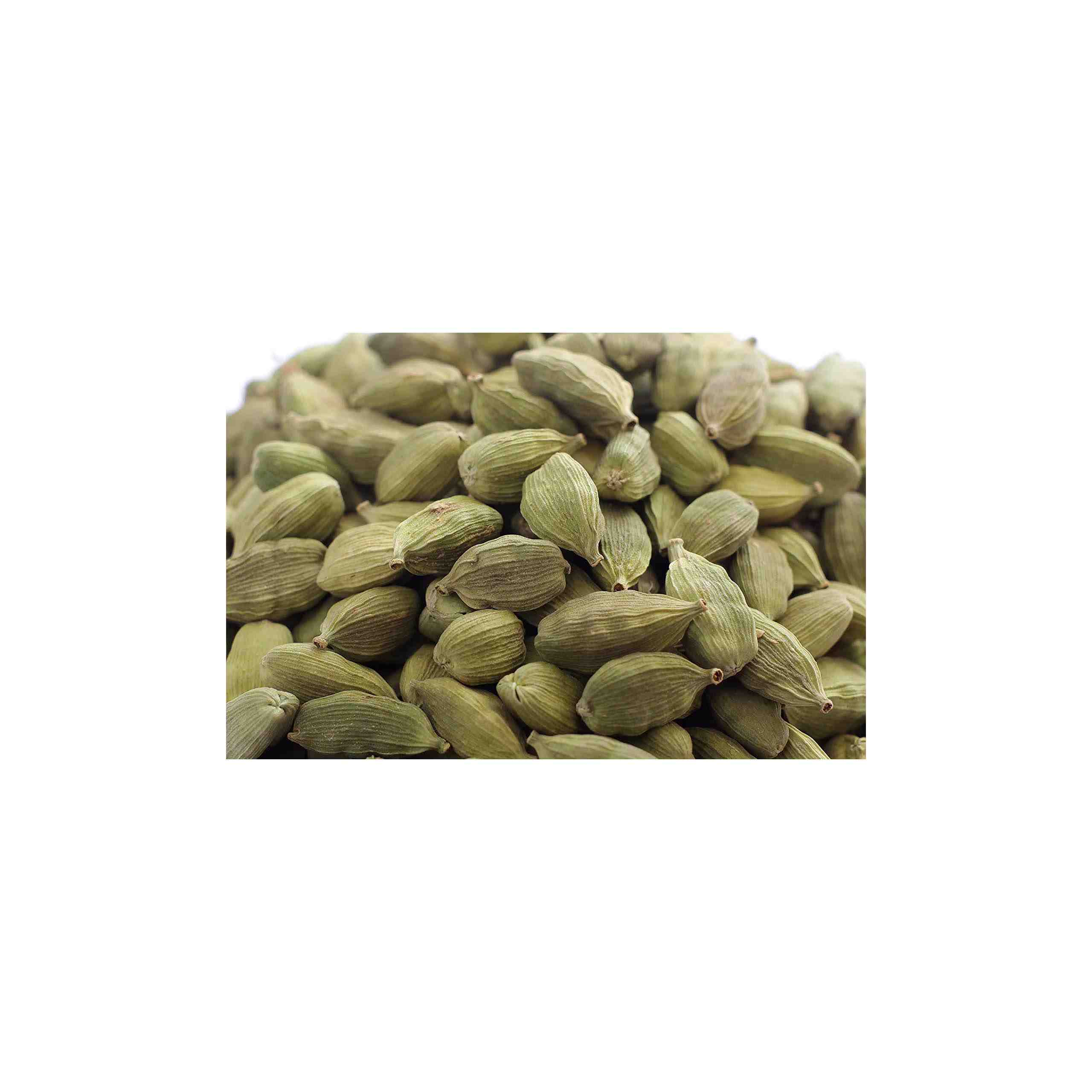 Seeds and Hands Wayanad Big Size 8mm Green Cardamom/Elaichi Whole [No Artificial Colors] Pack of 2 x 100g (200g)