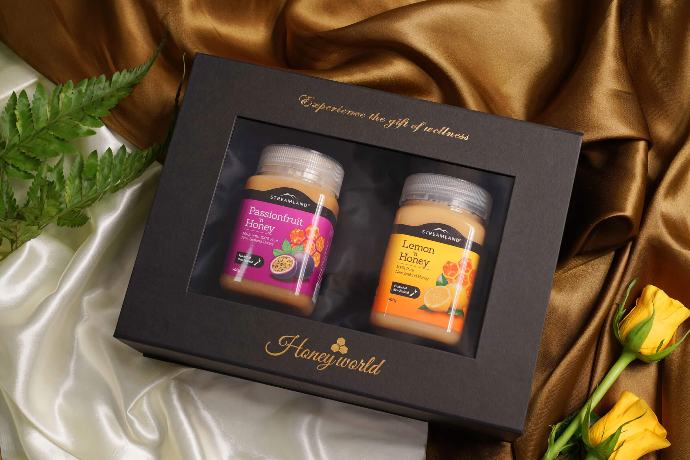 STREAMLAND Full of Fun Gift Pack of 2 - Passionfruit and Lemon 500GRM