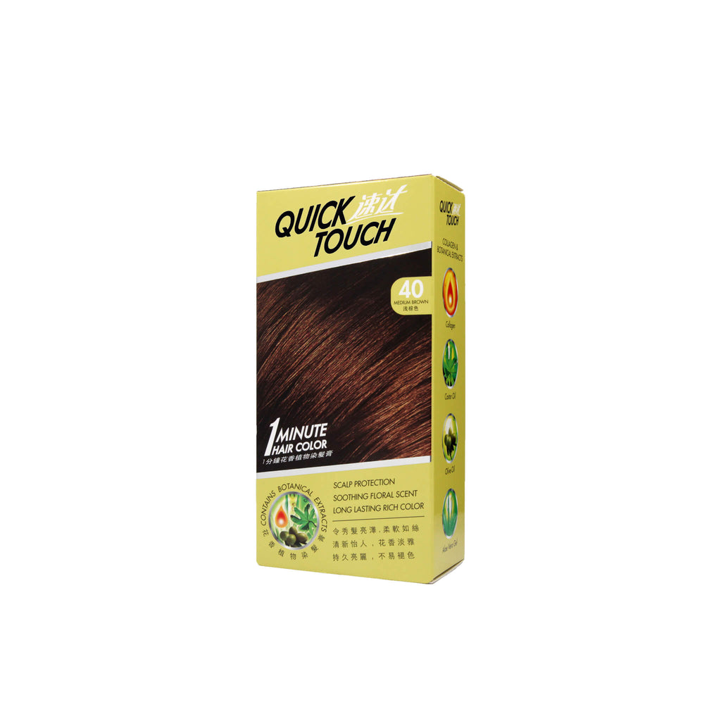 Quick Touch 1 Minute Hair Dye (Medium Brown)