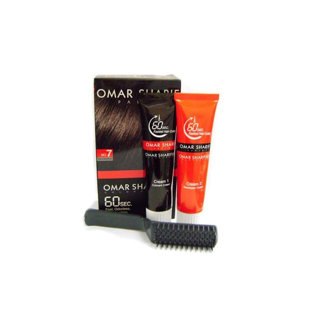 Omar Sharif Color Cream | Black Brown