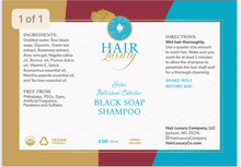 Load image into Gallery viewer, Black Soap Shampoo
