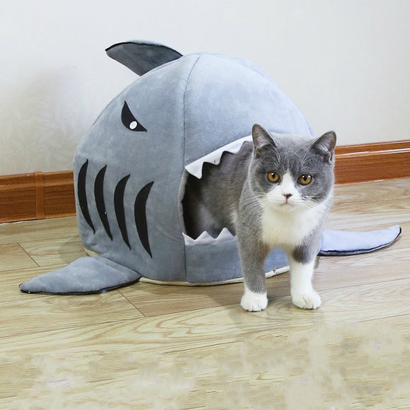 Shark Pet Bed For Dogs and Cats
