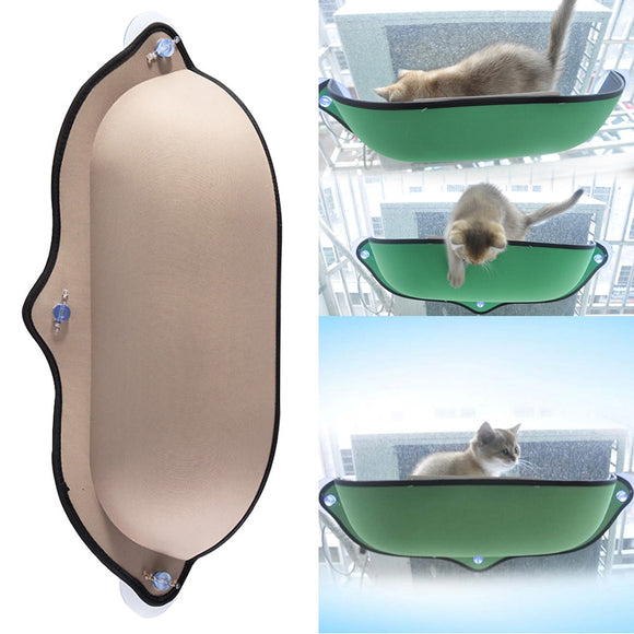 Safe Seat Suction Cup Lounger  Window Bed Hammock For Cats