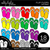 Flip Flops Clipart - Outlined