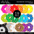 Rainbow Donuts 1 Clipart - Unlined