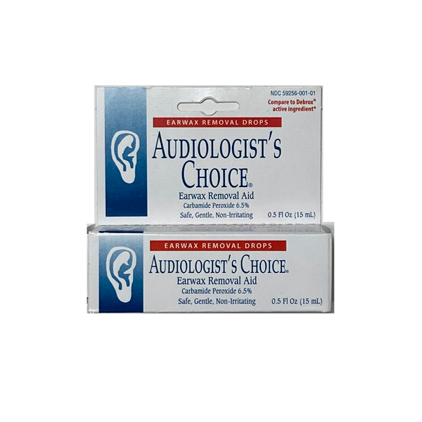 Audiologist's Choice Earwax Drops