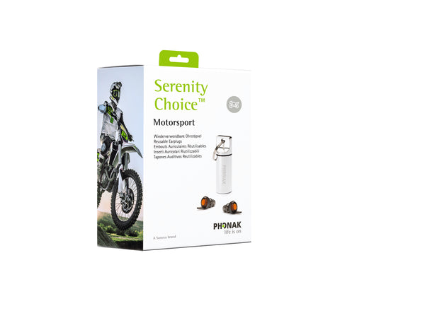 Serenity Choice Motorsport KI25 Earplugs