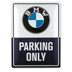 BMW Parking Plate
