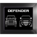Land Rover 'Defender' Minimalist Wall Art