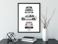 BMW E30 Poster And Framed Print