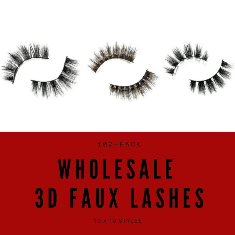 3D Faux Volume Lash Package Deal - QveenCaakiee©️ Luxury Boutique