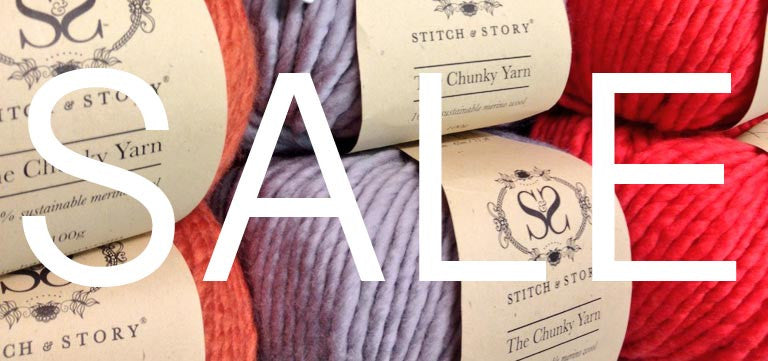 January Sale Now On! Up to 50% off DIY Knit kits