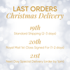 CHRISTMAS DELIVERY | UK last orders dates