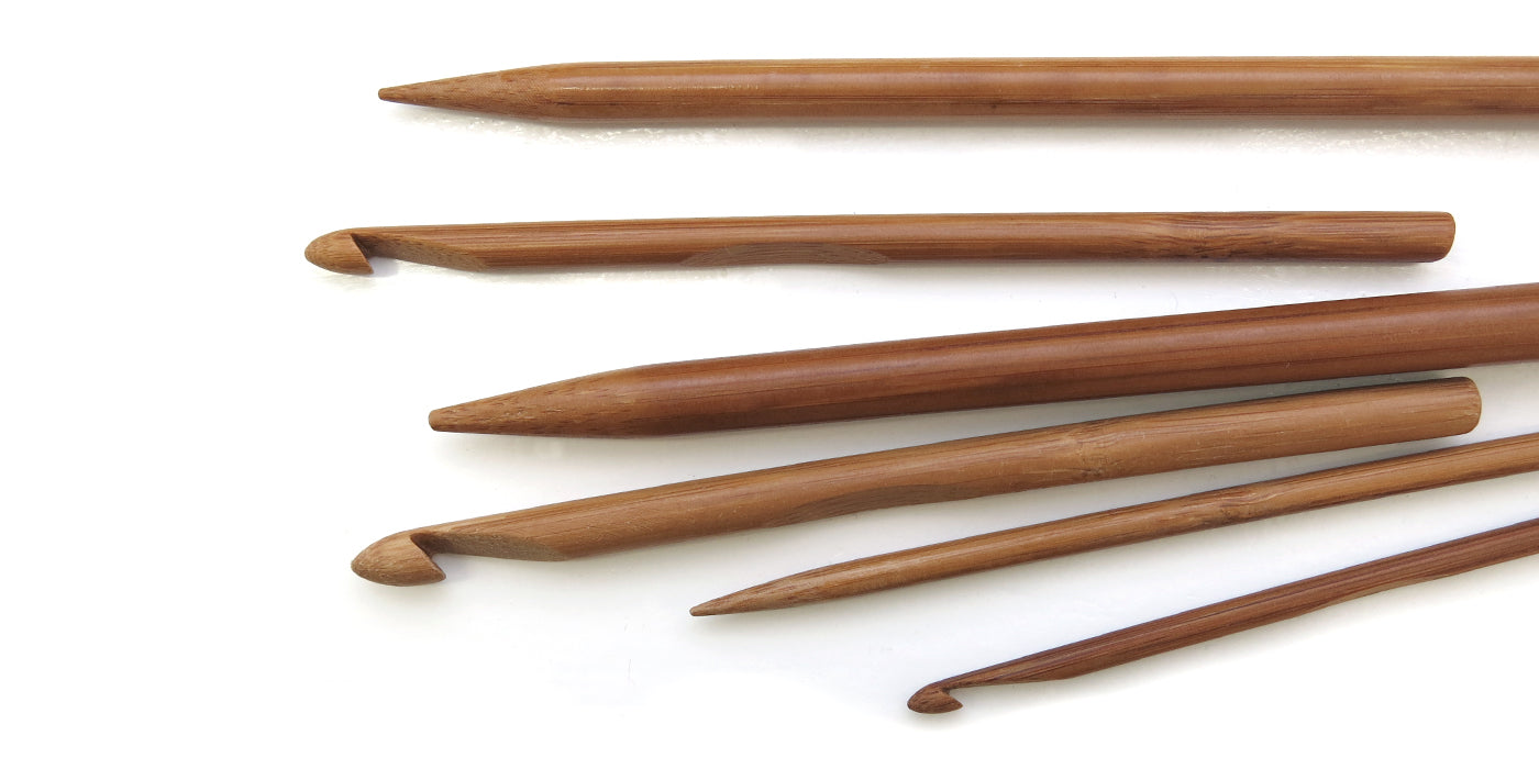 4 Knitting Needle/Crochet Hook Materials & Why We Chose Bamboo