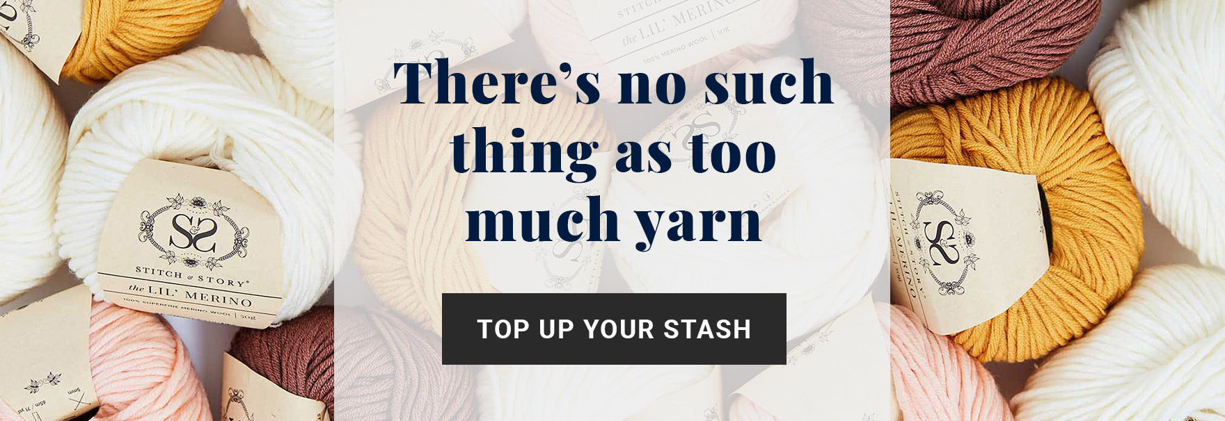 Shop all knitting and crochet yarns at Stitch & Story