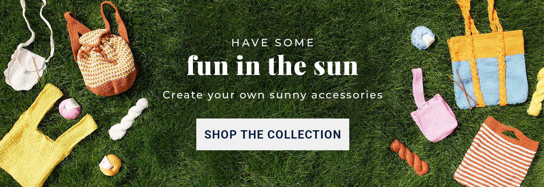 Shop the Fun In The Sun summer bag knitting and crochet pattern collection