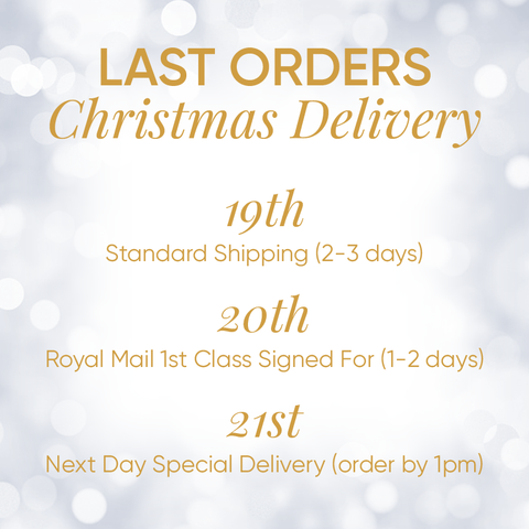Last Orders Christmas Delivery