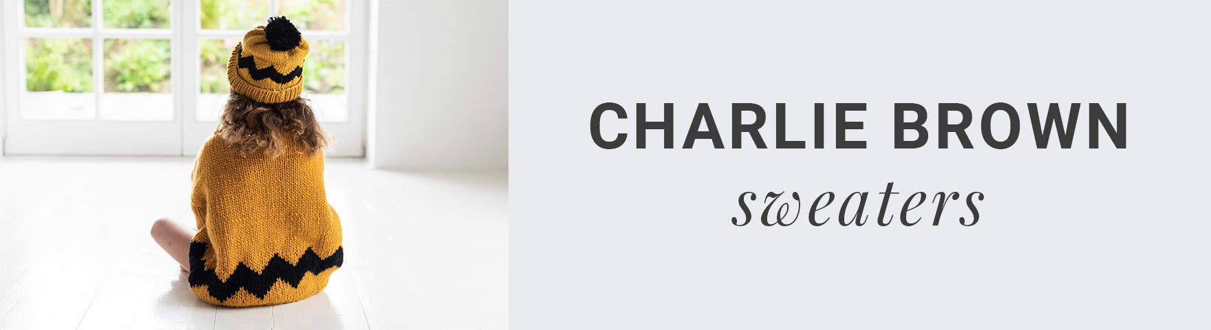 Charlie Brown Sweaters | Stitch & Story