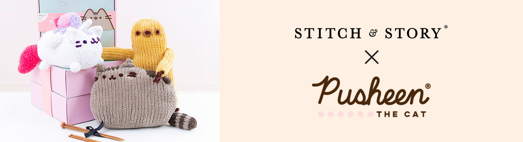 Pusheen | Stitch & Story