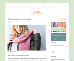Create a Craft Business | Knitting a successful business together