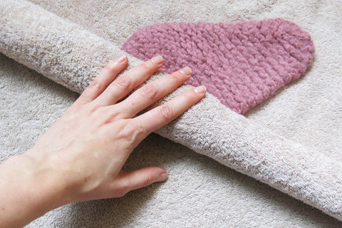 How to hand wash your knitting and crochet projects