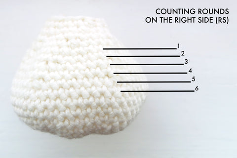 How to count your crochet rounds