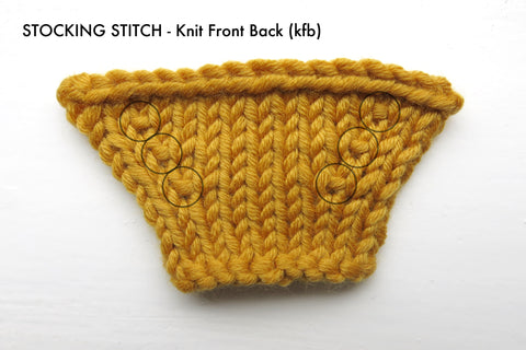 2 Ways To Increase Stitches In Knitting Stitch Story Usa